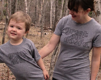 Mommy and Me Shirts - Great Outdoors Shirts - Matching Family Shirts
