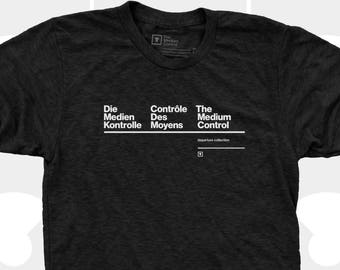 Men's TShirt Translation, French, German, English, Typography Shirt, Medium Control Men T-Shirt Sizes S,M,L,Xl, Xxl (2 Colors) for Men