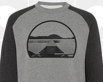 Canoe - Men's Crewneck Raglan Sweatshirt