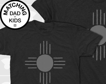 Matching Dad and Me Shirts - Native Sun
