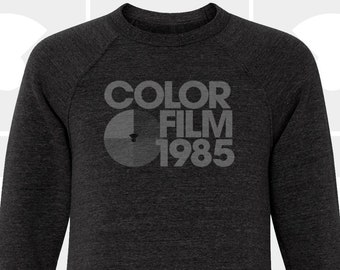 Crew Neck Sweatshirt - Color Film 1985