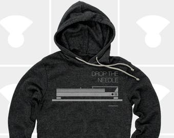 Drop the Needle - Unisex Hoodie