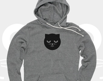 Sleepy Unisex Hoodie Watson the Cat