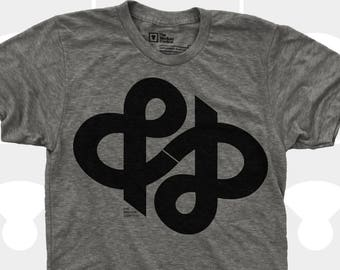Typography Shirt Ampersand, & Ampersand Infinity Men Shirt, Gifts for Him, Typography Shirt, Hipster Men, Gift for Men, Gift for Husband