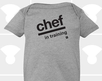 Chef In Training - Baby Onesie