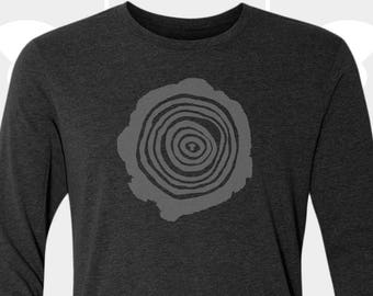 Tree Rings - Unisex Long Sleeve Shirt
