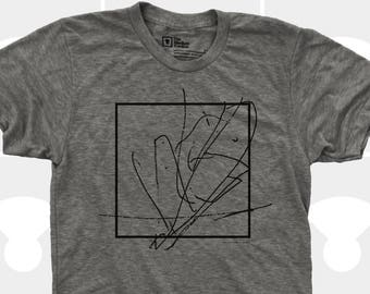 Men Abstract Box Tshirt  | Gift for Men  |Gift for Boyfriend |Gift for Son | Gift for Dad | Universe | Peace | Inspirational Art | Zen