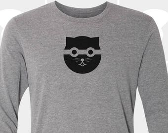 Bandit Watson the Cat - Unisex Long Sleeve Shirt