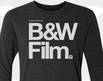 Black & White Film - Unisex Long Sleeve Shirt
