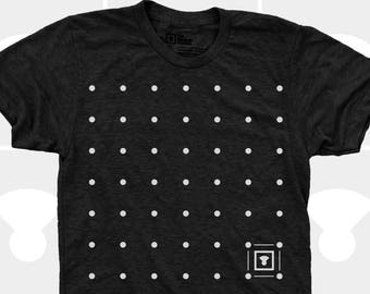 Men's TShirt Dots (Men) American Apparel Men T-Shirt, Science Road Trip Game Shirt, Sizes S,M,L,Xl,Xxl (4 Colors) for Men