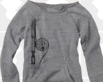 Slouchy Sweatshirt, Fly Rod