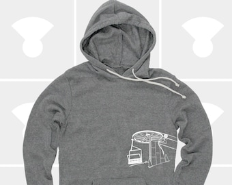 Mountain Chairlift - Unisex Hoodie