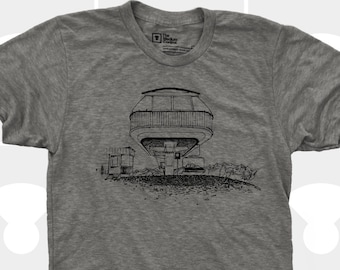 Men's T-Shirt - Spaceship Chairlift
