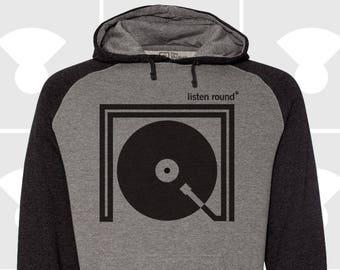 Listen Round - Unisex Hoodie