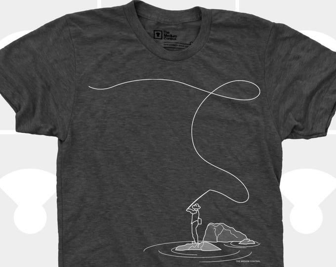 Fly Fishing, Fly Fishing Gifts for Men, Fly Fishing T-Shirt, Fishing T-Shirt