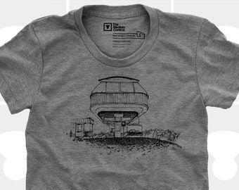 Women's T-Shirt - Spaceship Chairlift