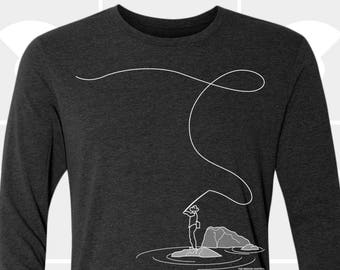 Long Sleeve Shirt - Fly Fishing