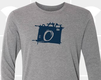 Sketch Camera - Unisex Long Sleeve Shirt