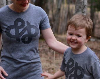 Ampersand Infinity Mommy and Me Shirts - Matching Shirts