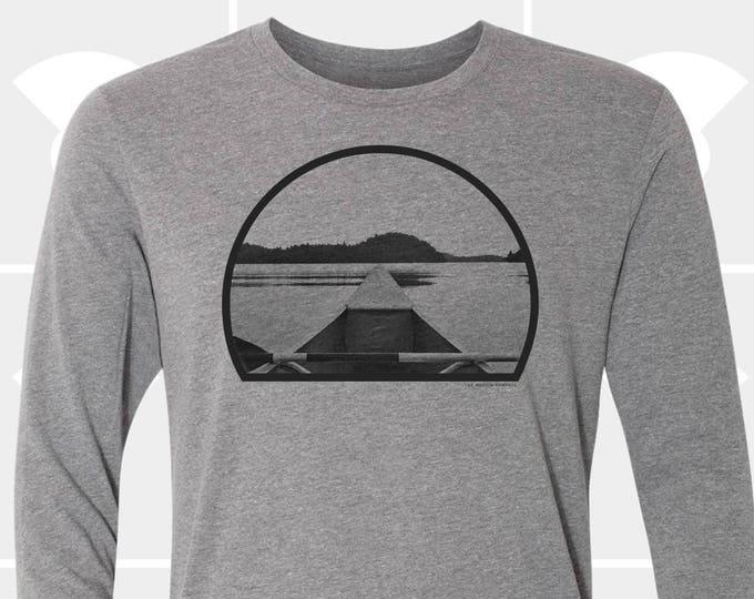 Featured listing image: Canoe - Unisex Long Sleeve Shirt