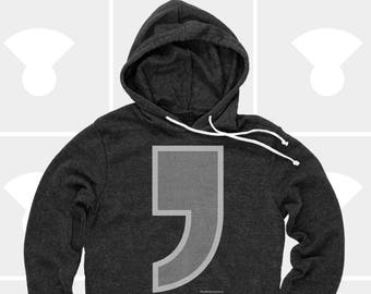 Comma - Unisex Pullover Hoodie
