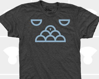 Cloud Animal Men's TShirt, Men Tee Shirt, Video Game, Clouds, Animal, Sky, Imagination, Black, Science Shirt (4 Colors) TShirt for Men