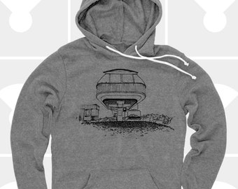 Pullover Hoodie - Spaceship Chairlift