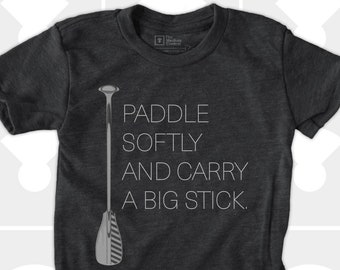 Paddle Softly TShirt for Boys or Girls