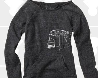 Slouchy Sweatshirt, Chairlift