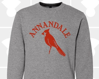 Annandale Cardinals - YOUTH - Crewneck Sweatshirt - Cardinal