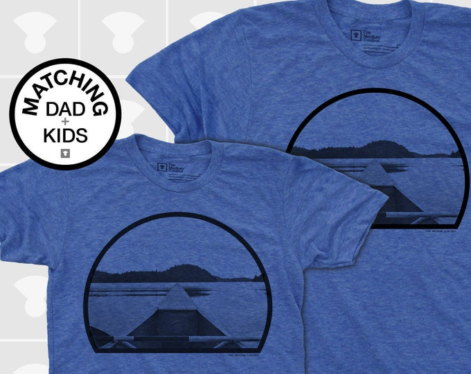 Featured listing image: Matching Dad and Me Shirts - Canoe