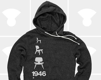 Eames Chair 1946 - Unisex Hoodie