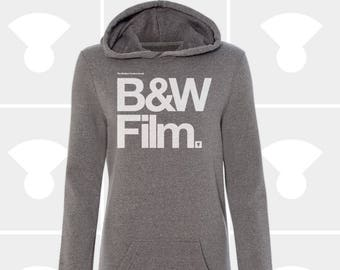 Black & White Film - Sweatshirt Dress