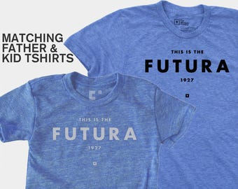 Father Daughter Matching Shirts, Typography Shirts, Matching Shirts, Dad & Baby Matching Shirts, Father Daughter Matching Shirts, Futura