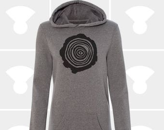 Tree Rings - Sweatshirt Dress