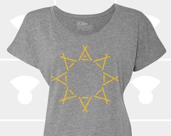 Tent & Sun - Women's Dolman Shirt