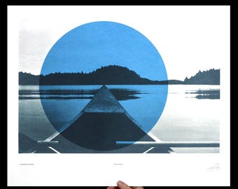 Canoe - Art Print