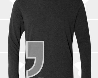 Comma - Unisex Long Sleeve Shirt