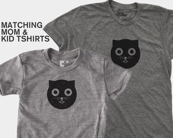 Watson the Cat - Matching Shirts (Women & Kid)