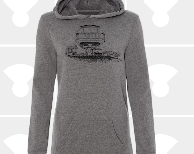 Featured listing image: Sweatshirt Dress - Spaceship Chairlift