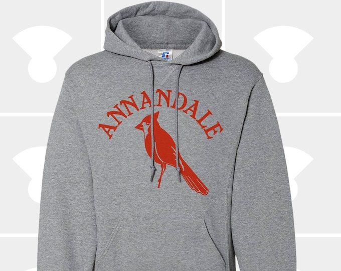 Featured listing image: Annandale Cardinals Hometown - Hooded Pullover Sweatshirt