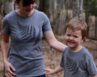 Mothers Day Gift: Mommy and Me Shirts - Fern Shirts - Matching Family Shirts