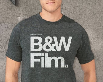 Black & White Film TShirt - Men