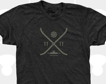 Men's TShirt Skateboard Elements (Men) Skateboarding, Arrow, Skateboard Deck, Skater, Men T-Shirt, Sizes S,M,L,Xl,Xxl (4 Colors) for Men