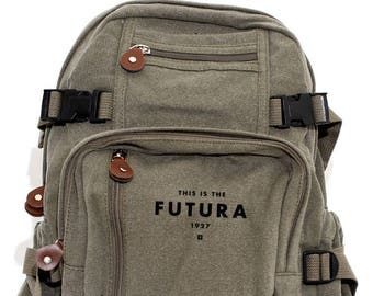 Backpack, Canvas Backpack, Laptop Backpack, Small Backpack, School Backpack, Backpack Men, Backpack Women, College Backpack, Futura