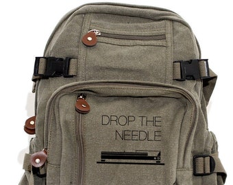 Turntable - Lightweight Canvas Backpack