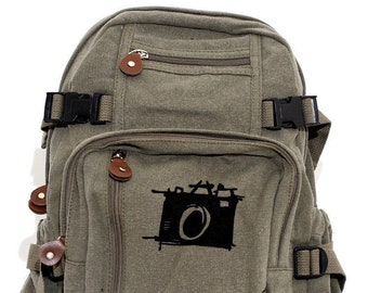 Sketch Camera - Lightweight Canvas Backpack