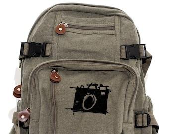 Sketch Camera - Lightweight Canvas Backpack