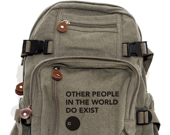 Other People - Lightweight Canvas Backpack