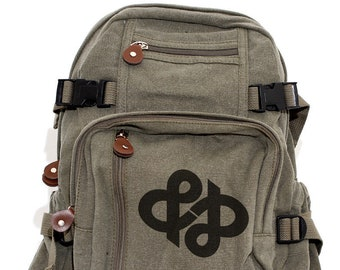 Ampersand Infinity - Lightweight Canvas Backpack